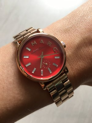 Marc Jacobs Watch rose-gold-coloured-red