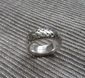 original Marc O'Polo Ring geflochten Gr. 56 aus 925 Silber NP 169 € wenig getrag