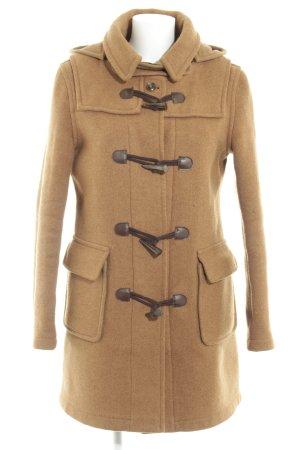 Original maritime 1661 Duffle-coat brun-brun foncé style décontracté