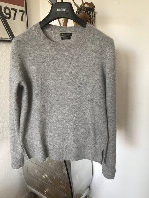 Original MASSIMO DUTTI Pullover grau wNeu 100% Cashmere Kaschmir 125€ Pulli M L