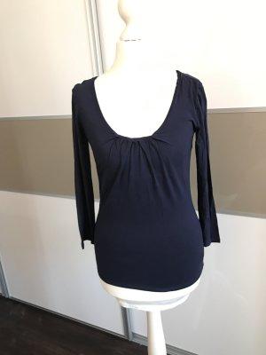 Original Max Mara Shirt dunkelblau