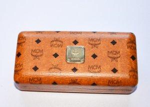 MCM Mini Bag cognac-coloured-black imitation leather