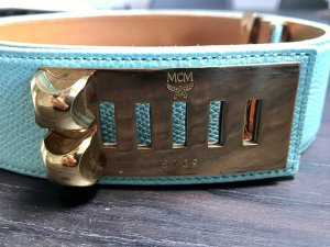 MCM Belt gold-colored-turquoise
