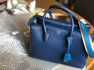 MCM Handbag blue leather
