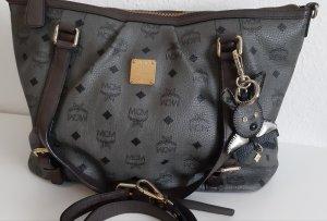 MCM Basket Bag grey-dark grey