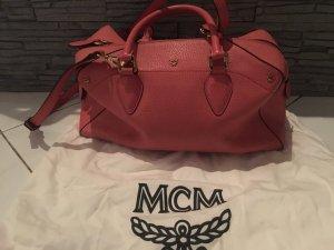 Original MCM Handtasche in rosa