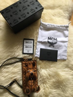 MCM Mobile Phone Case brown leather