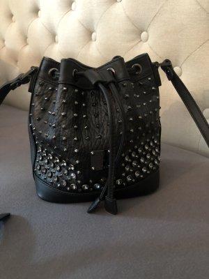 MCM Sac noir faux cuir
