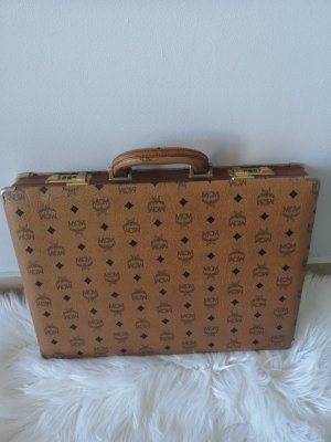 MCM Briefcase black-brown