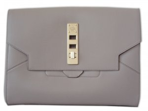 ORIGINAL MCM M-Cloud Clutch taupe, wie neu
