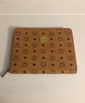 MCM Laptop bag cognac-coloured