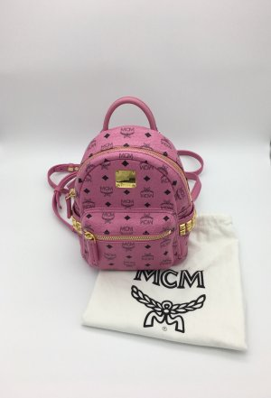 Original MCM Rucksack Mini Pink / Tasche  2 in 1