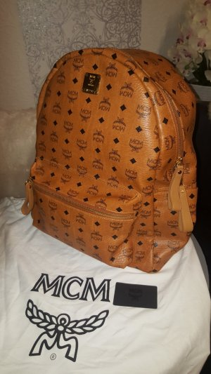 MCM Sac à dos cognac