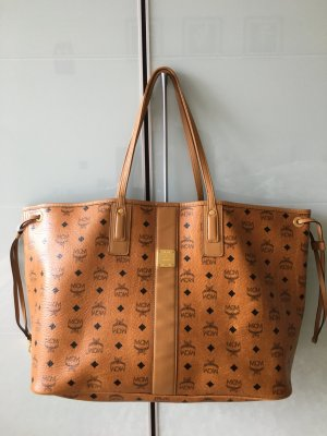 Original MCM  Shopper Tasche Large