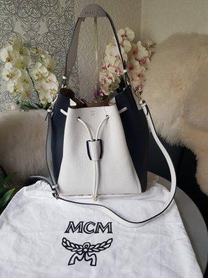 MCM Borsellino bianco-nero