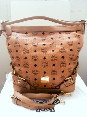 MCM Carry Bag cognac-coloured leather