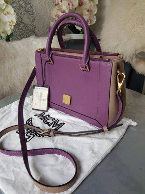 MCM Crossbody bag grey-lilac