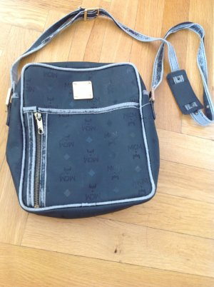 Original MCM Tasche Vintage schwarz Umhängetasche Tasche Crossbody