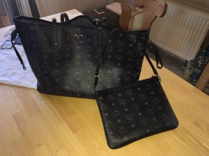 MCM Shopper black-grey