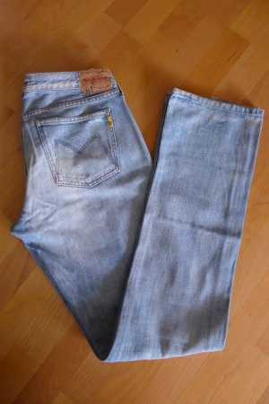 Original Meltin Pot Jeans hellblau mitelblau gerade 31 34