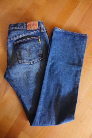 Original Meltin Pot Jeans mittelblau gerade W31 L34