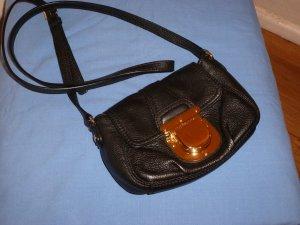 Original Michael Kors: Abendtäschen aus schwarzem Leder,wie neu,mit Labelschild
