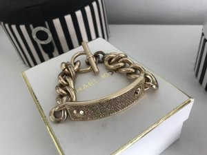 Original Michael Kors Armband Gold Strass