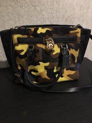 Original Michael Kors Camouflage Leder Tasche