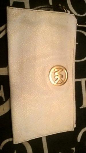 Michael Kors Borsa clutch bianco Pelle