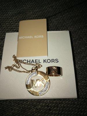 Michael Kors Chaîne en or doré
