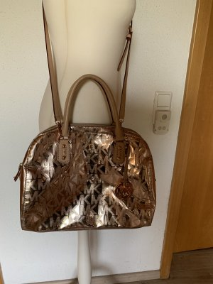 Michael Kors Sac à main or rose cuir