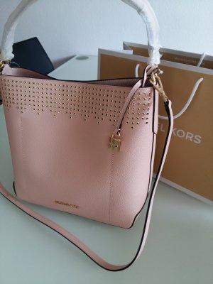 Michael Kors Shoulder Bag dusky pink-pink leather