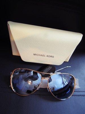 Original Michael Kors Pilotenbrille Rosègold Large Modell 59