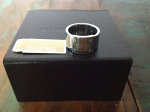 Original Michael Kors Ring Steel Neu mit Etikett Gr. 56
