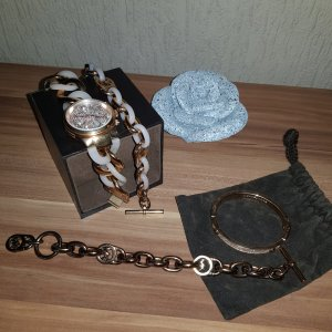 original Michael kors schmuck set rosegold
