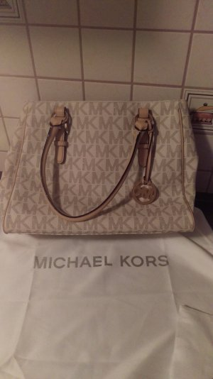 Michael Kors Carry Bag white-cream leather