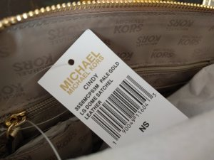 Original Michael Kors Tasche Cindy gold