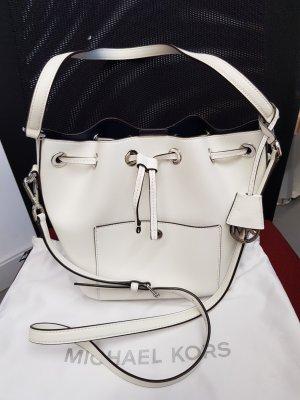 Original Michael Kors Tasche Greenwich white Bucket Bag