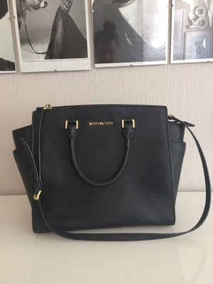 Michael Kors Carry Bag black leather