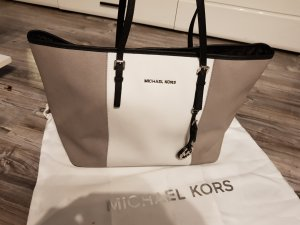 Michael Kors Shopper blanc-gris clair