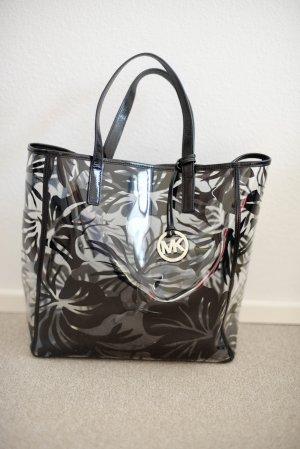 Original Michael Kors Tasche schwarz transparent