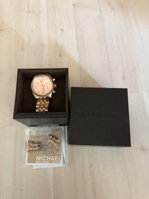Michael Kors Reloj analógico color rosa dorado acero inoxidable