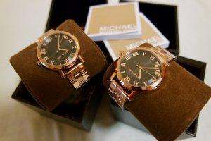 Original Michael Kors Uhr Damen Rosagold neu NP 229€
