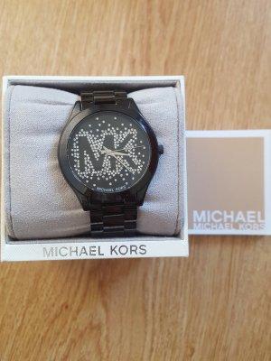 Michael Kors Horloge zwart-zilver