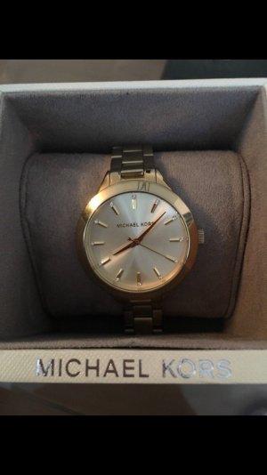 Original Michael Kors Uhr Nr. 3465 Gold mit Verpackung