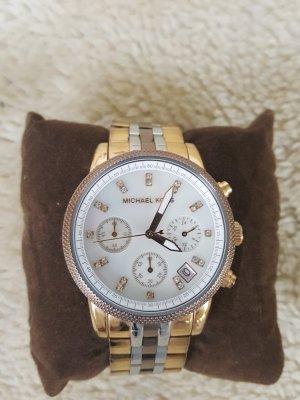 Michael Kors Horloge zilver-brons