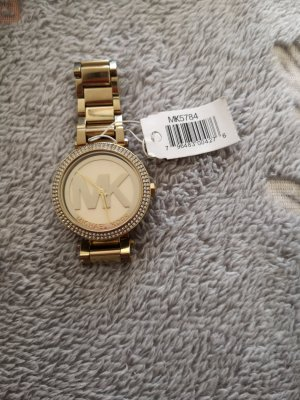 original Michael kors Uhr und ring in gold