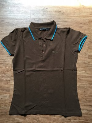 Original Mishumo Polo- Shirt Gr L braun