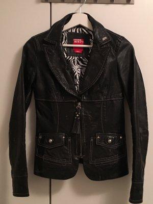 Miss Sixty Leather Jacket black