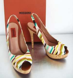 Original MISSONI Peep Toe Pumps / Neu / 37